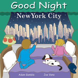 Good Night New York City by Adam Gamble Illustrated by Joe Veno