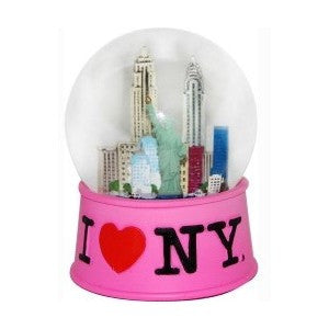 I Love NY Mini Snow Globe