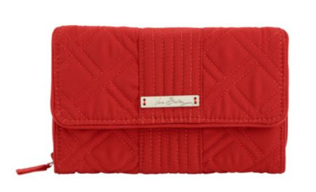 Vera Bradley Ultimate Wallet Chilli Pepper