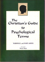 Christians Guide to Psycholigical Terms