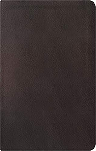 ESV Reformation Study Bible, Condensed Edition Leather Dark Brown