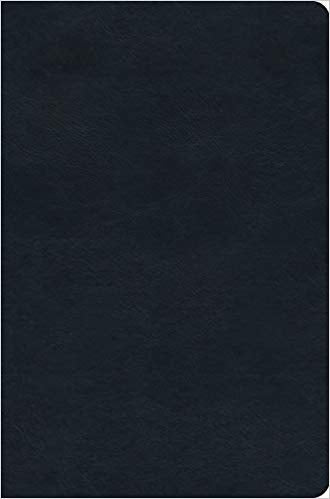 ESV Value Compact Bible Trutone, Navy Imitation Leather