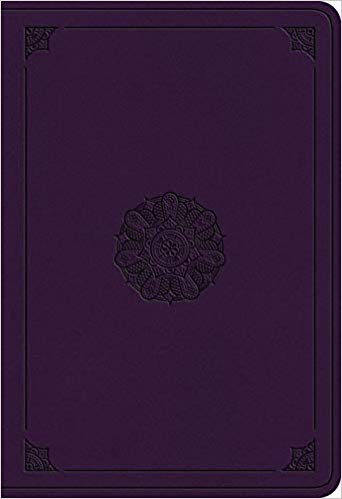 ESV Student Study Bible Trutone Lavender Emblem Imitation Leather