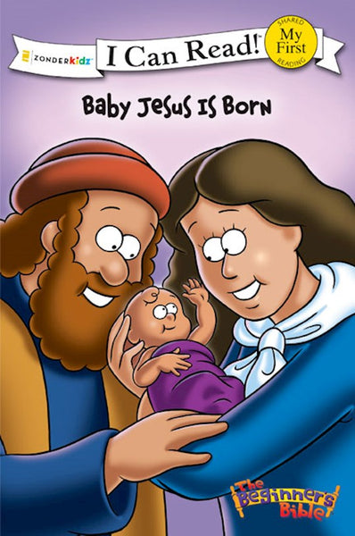 The Beginner's Bible Baby Jesus Is Born: My First (I Can Read! / The Beginner's Bible)