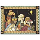 Masterpiece Holyville Holiday - Magi with Gifts Card - (1 box)