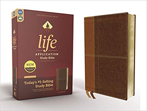 NIV Life Application Study Bible Third Edition Brown Imitation Leather