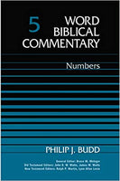 Numbers: Word Biblical Commentary