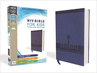 NIV Bible for Kids Imitation Leather Thinline Blue Large Print