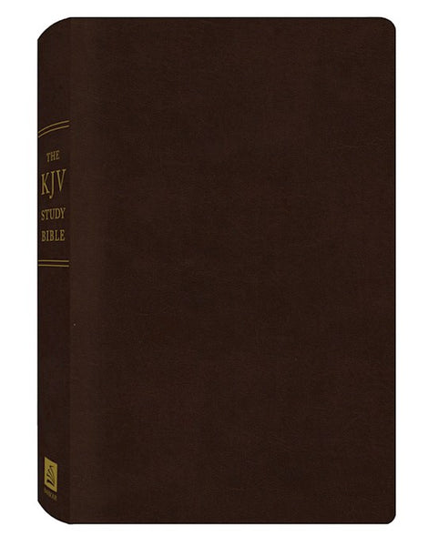 KJV Study Bible-Burgundy Bonded Leather
