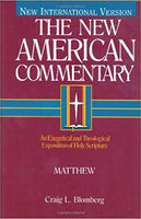 Matthew: New American Commentary