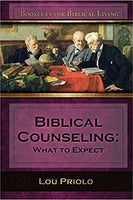 Biblical Counseling: What to Expect