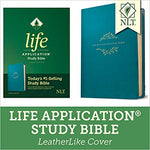NLT Life Application Study Bible Third Edition Imitation Leather Teal Blue