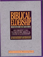 Biblical Eldership Mentor's Guide