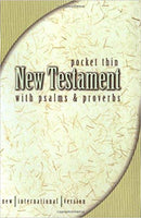 NIV POCKET NEW TESTAMENT WITH PSALMS & PROVERBS