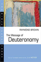 Message of Deuteronomy: Bible Speaks Today