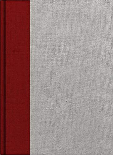 KJV Study Bible Crimson/Gray Cloth over Board
