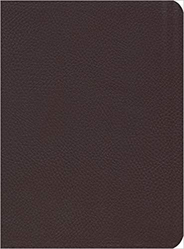 ESV Reformation Study Bible Genuine Leather Burgundy