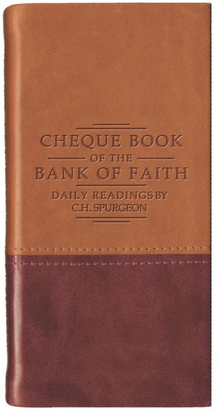 Chequebook of the Bank of Faith
