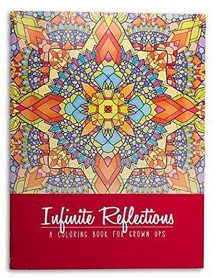 Adult Coloring Book: Infinite Reflections