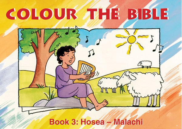 Colour the Bible - Book 3: Hosea - Malachi
