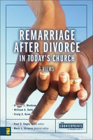 Remarriage After Divorce In Todays Church