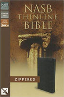 NASB Thinline Zippered Collection Bible