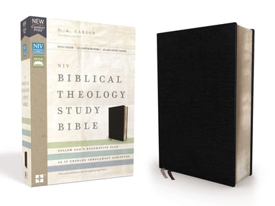 NIV Biblical Theology Study Bible: Black Bonded Leather