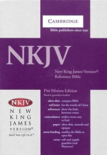 NKJV Pitt Minion Reference Bible