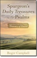 Spurgeons Daily Treasures in the Psalms