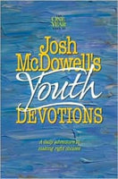 One Year Book of Josh McDowells Youth Devotions