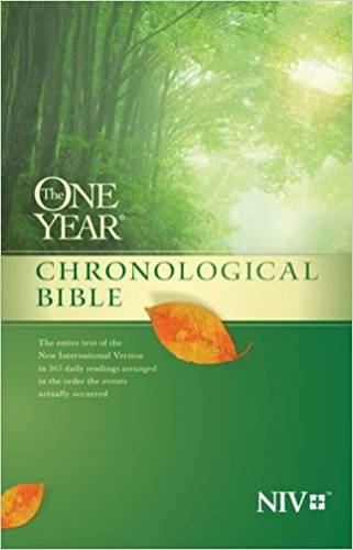 NIV One Year Chronological Biblle