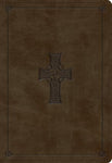 ESV Student Study Bible TruTone®, Olive, Celtic Cross Design