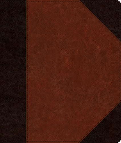 ESV Journaling Bible Trutone, Brown/Cordovan Portfolio Design