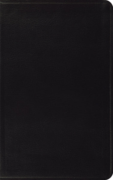 ESV Thinline Bible Bonded Leather, Black