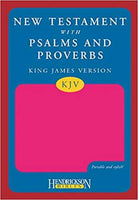 KJV New Testament with Psalms Proverbs