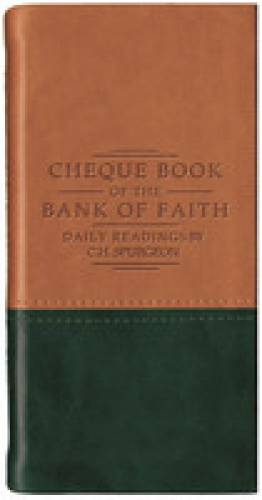 Chequebook on the Bank of Faith