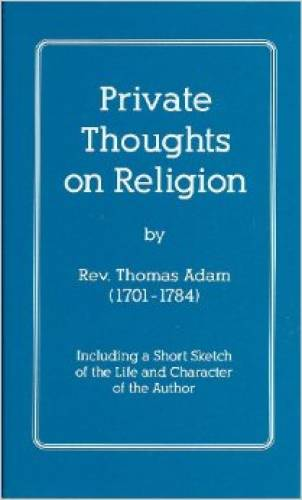 Private Thoughts on Religion