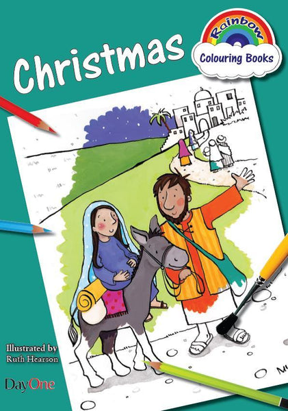 Christmas Coloring Book (Rainbow Colouring)