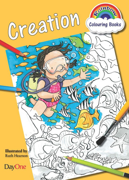 Creation Coloring Book (Rainbow Colouring)