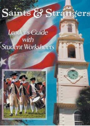 Saints and Strangers: Leader's Guide with Student Worksheets