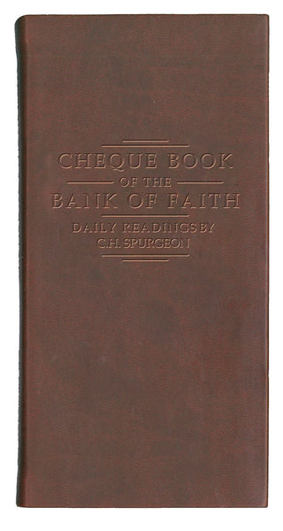 Chequebook of the Bank of Faith: Burgundy