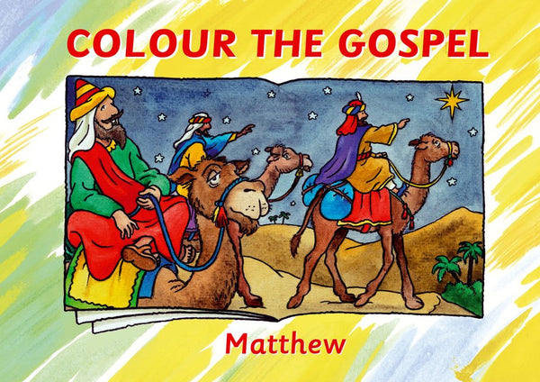 Colour the Gospel: Matthew