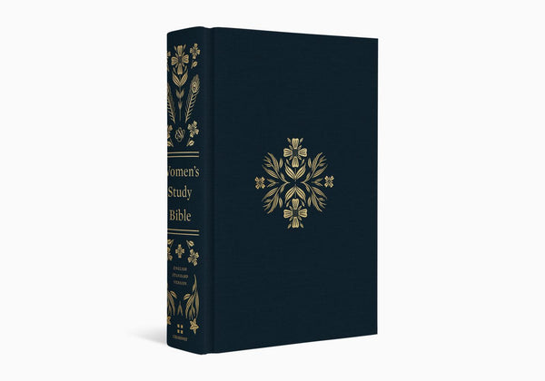 ESV Women's Study Bible Cloth over Board, Dark Teal