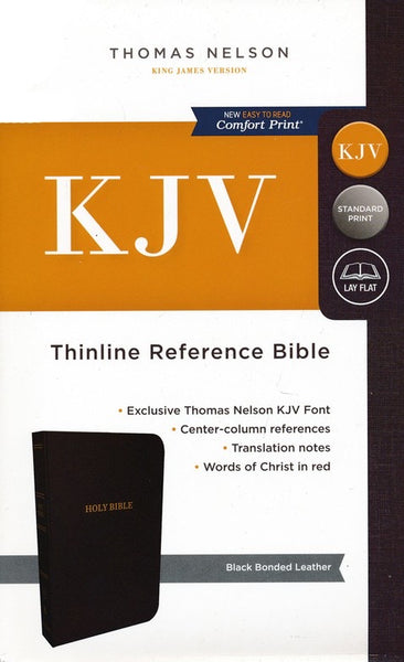 KJV Thinline Reference Bible: Indexed