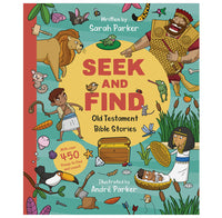 Seek and Find: Old Testament Bible Stories (Board book)