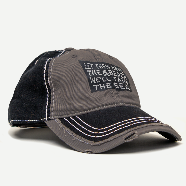 Pirate Flag Distressed Hat