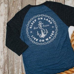 Anchor & Chain 3/4 Shirt
