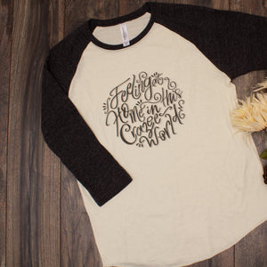 FINAL SALE : Crazee World Baseball Tee