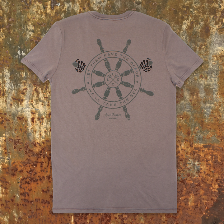 Pigement Dyed Ship Wheel Tee