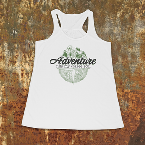Land Adventure Racerback Tank